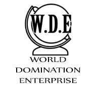 WDE- world domination enterprise